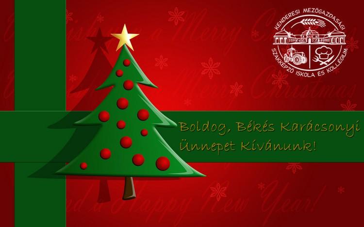 Boldog, Békés Karácsonyi Ünnepet Kívánunk!