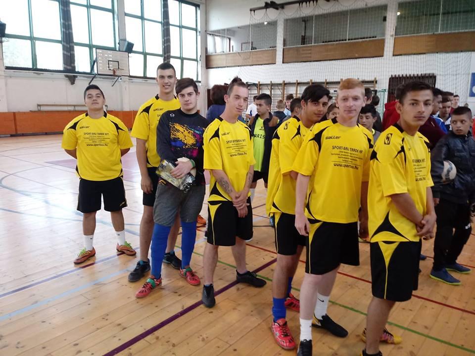 Jász-Nagykun Szolnok Megyei Sportnapokon labdarúgásban is részt vettünk